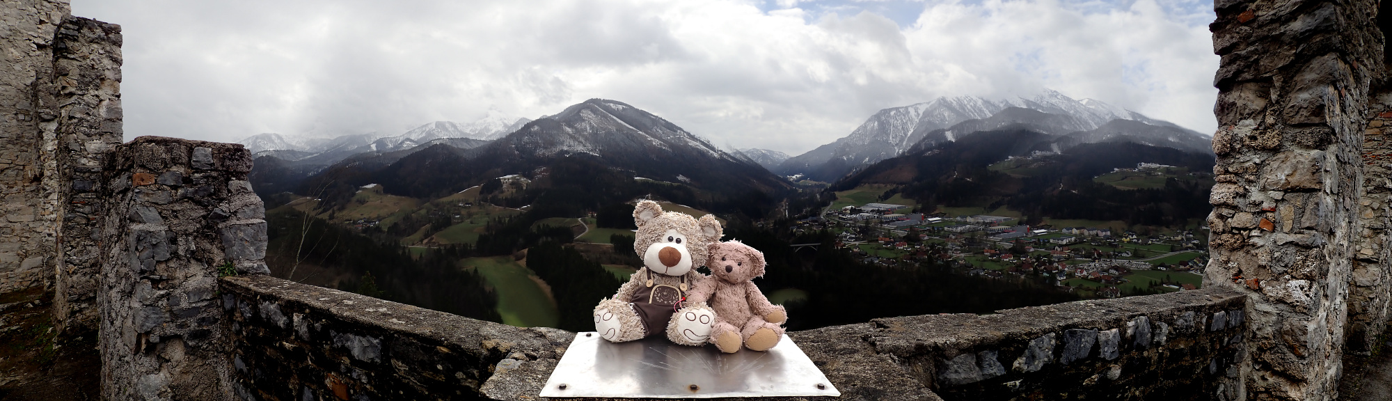 Teddy Land: Burg Gallenstein panorama