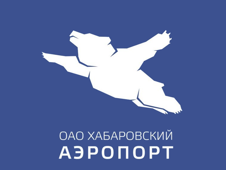 Teddy Land: Habarosk Airport logo