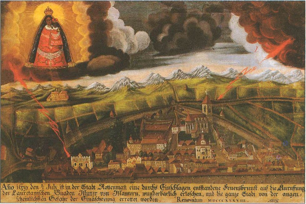 Teddy Land: Rottenmann old painting 1679
