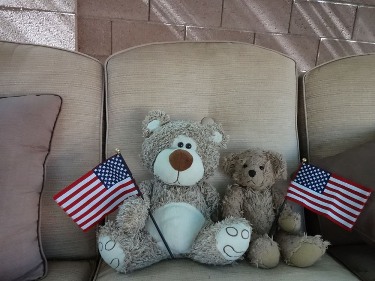 Teddy Land: Happy 4th of July