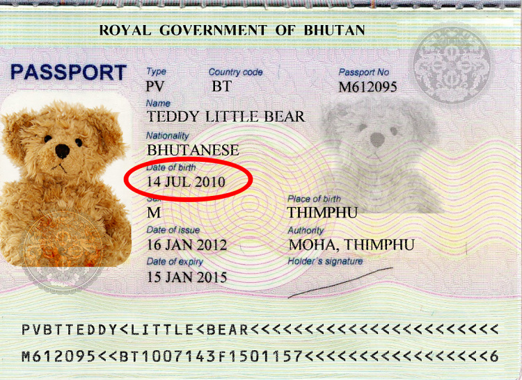 Teddy Land: my passport