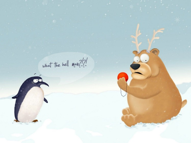 Teddy Land: Bear wannabe Rudolph