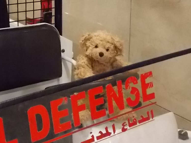 Teddy Land: Cairo airport