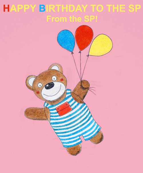 Teddy Land: Happy Birthday from the Sweetie Pie