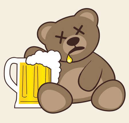 Teddy Land: Happy Birthday drunk
