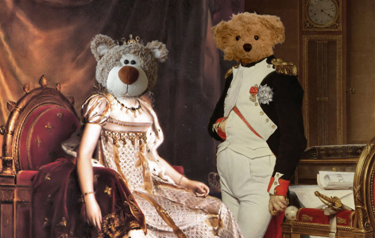 Teddy Land: Josephine de Beauharnais and Napoleon Bonaparte