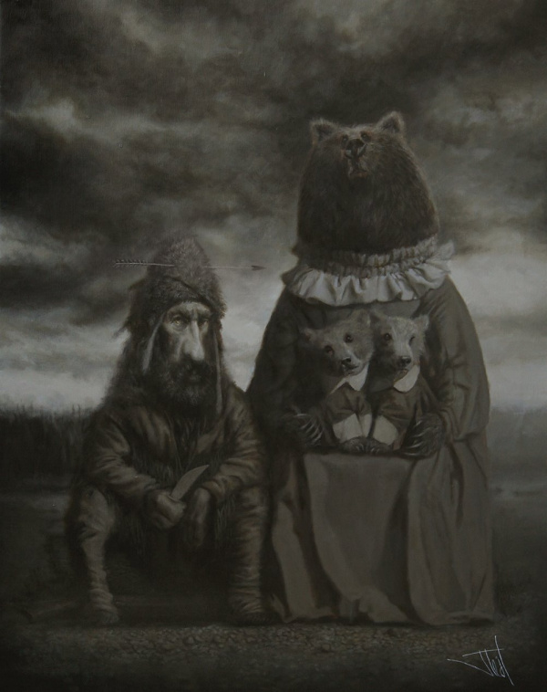 Teddy Land: Jota Leal - Hugh Glass Encounter