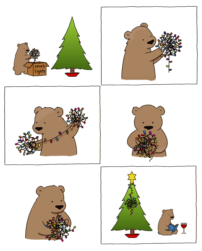 Teddy Land: Xmas lights