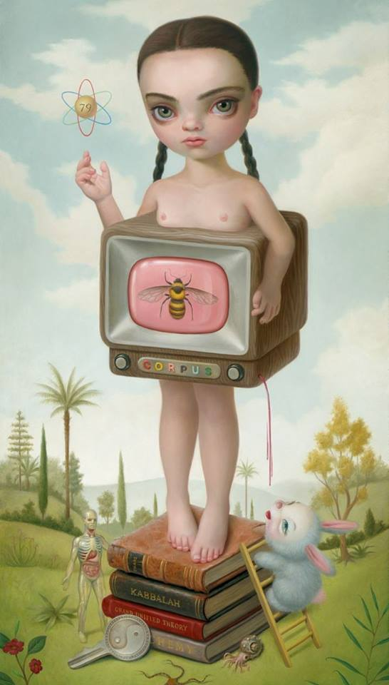 Teddy Land: Mark Ryden - portarit of Christina Ricci