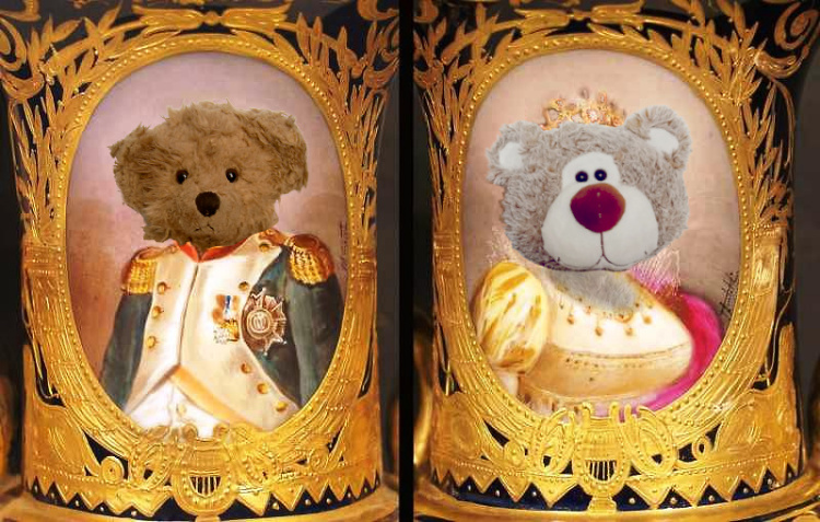Teddy Land: Napoleon Bonaparte and Josephine de Beauharnais