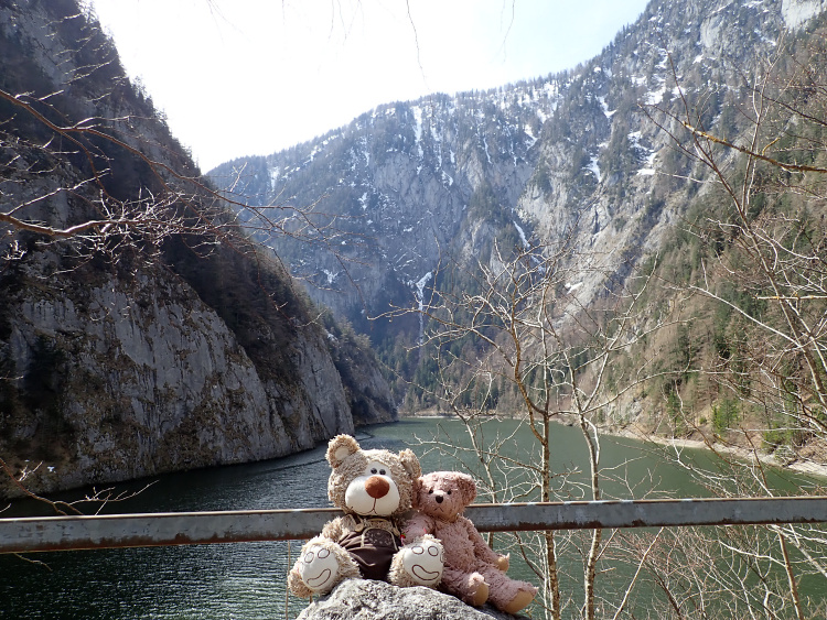 Teddy Land: Salzastausee (Pass-Stein-Strasse)