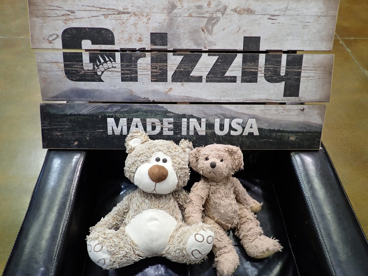 Teddy Land: Grizzly Made in USA