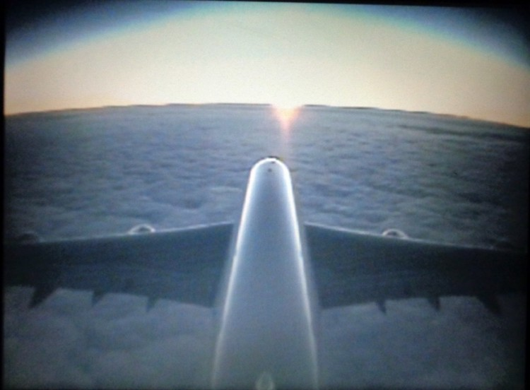 Teddy Land: A380-800 tail camera