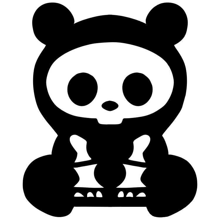 Teddy land: Bear skeleton