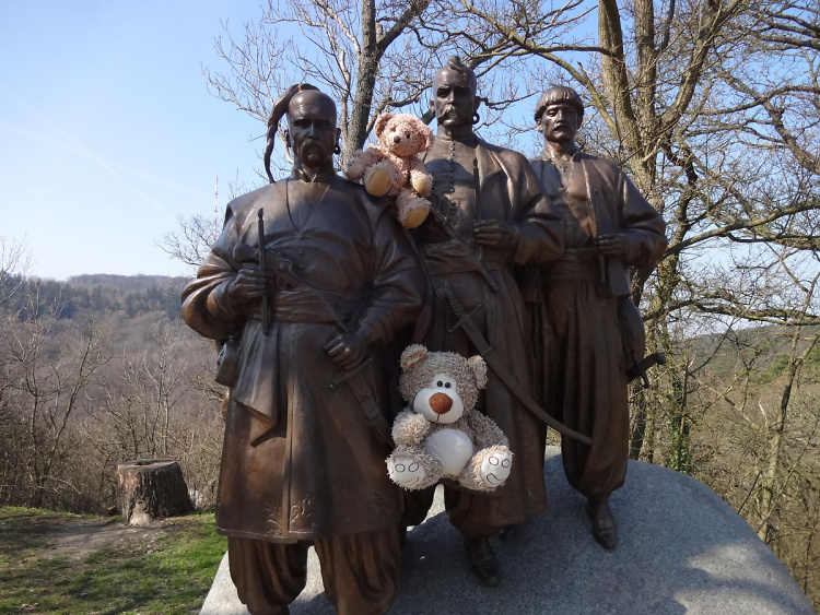 Teddy Land: Cossacks' Monument in Kahlenberg