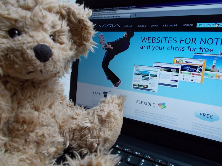 Teddy Land: making me a site