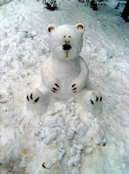 Teddy Land: Snow Teddy Bear
