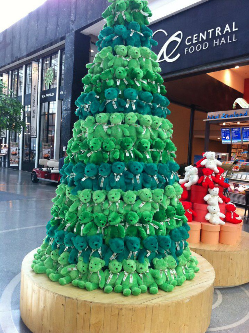 Teddy land: Teddy Bear Christmas Tree