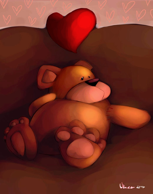 Teddy Land: Valentine's Day by Vincent (~Vinn-bonzai) from Netherlands