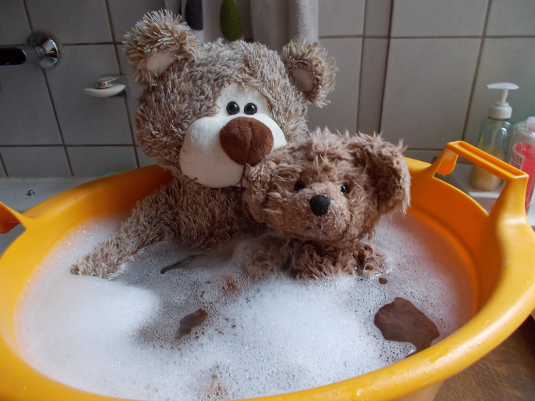 Teddy-land Bath with Teddy Bears