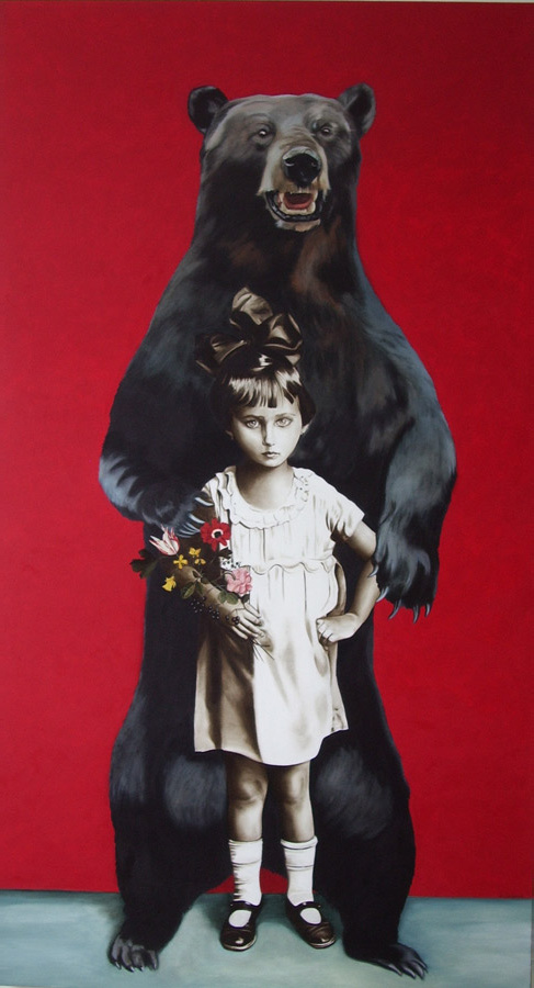 Teddy Land: Marianna Gartner - Girl with Bear