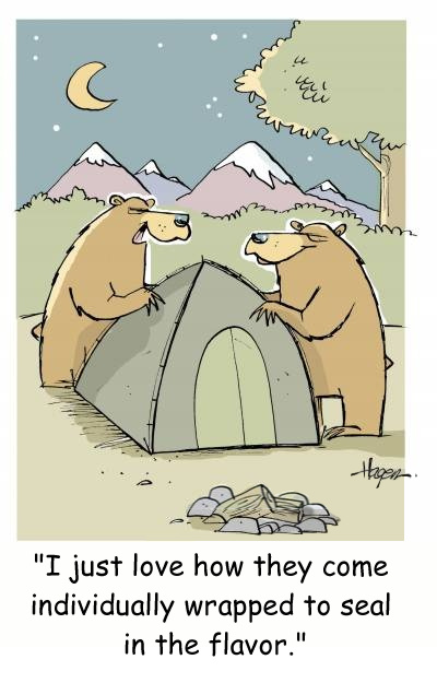 Teddy Land: Cartoon by Ralph Hagen
