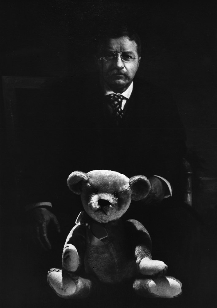 Teddy land: The two Teddies who started it all - Theodore Roosevelt and the first Teddy Bear