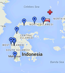 Teddy Land: Map Sulawesi