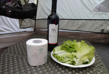 The essentials, Camping Les Mimosas, Ajaccio - Corsica, France