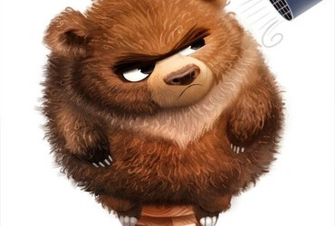 Frizzly Bear by Piper Thibodeau