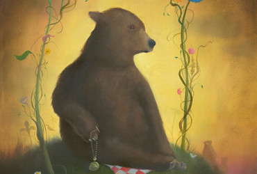 Geoffrey Gersten - Bear with a watch