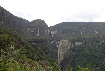 Gocta waterfall 771m