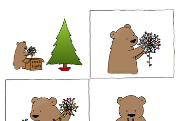 Xmas Lights by Liz Climo