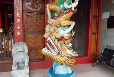 Chinese temple in Manado