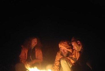 Campfire in Pirin - photo credit Alexander Kadiev