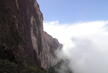 Mount Roraima, tepui plateaus 2338m in South America