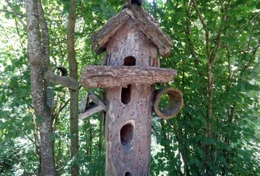 Hotel for birds. There are vacancies
