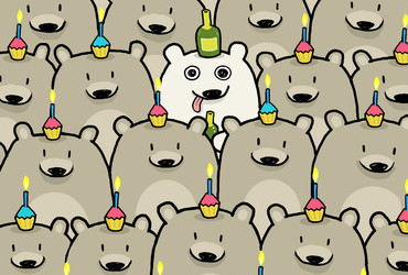 Happy Birthday Bears - Sebastien Millon
