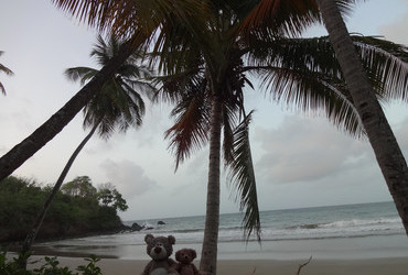Good morning Tobago - Bacolet beach, Scarborough, Tobago