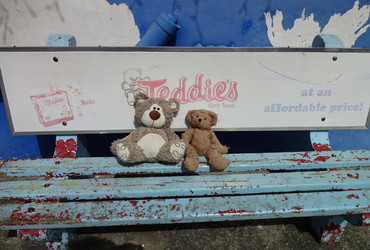 Teddies bench - Scarborough, Tobago