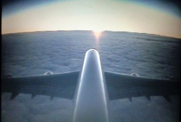 Air France DL8553 2018-11-27: Los Angeles (LAX) - Paris (CDG) tail camera