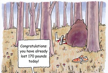 Congratulations: You already lost 170 pounds today!