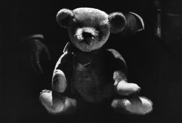 The two Teddies who started it all - Theodore Roosevelt and the first Teddy Bear