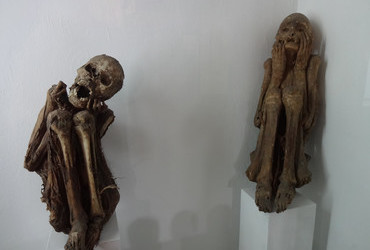 They had found mummies all over the Andes - Huaraz, Peru