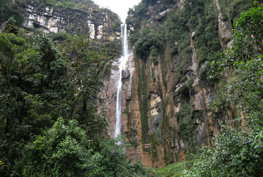 Yumbilla waterfall 895m