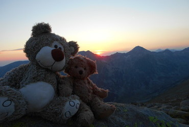 Sunset at Hambartsah - Pirin Mountain, Bulgaria