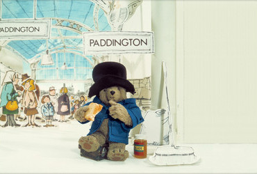 Paddington Bear by British writer Michael Bond (1958), known for his optimism, sense of fair play, perfect manners and talent for comic chaos.