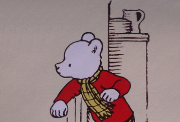 Rupert Bear created by English artist Mary Tourtel in 1920