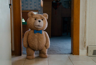 Ted is a star in American comedy Ted 2012
