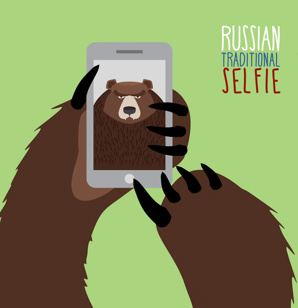 Teddy Land: Russian Traditional Selfie